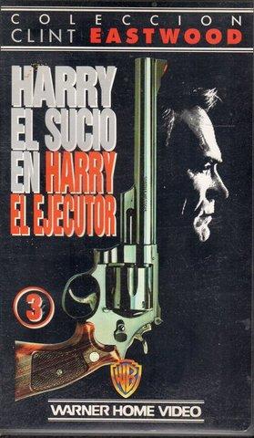 HARRY EL SUCIO.  4 PELICULAS VHS - foto 3