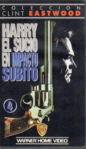 HARRY EL SUCIO.  4 PELICULAS VHS - foto 4
