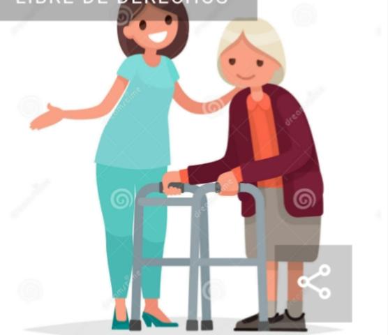 Resultado de imagen para cuidadora de ancianos