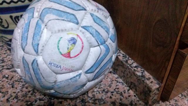 Balón Fútbol Mundial Korea Y Japón 2002