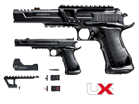 UX RACE GUN KIT CO2 BALINES 4, 5MM - foto 1