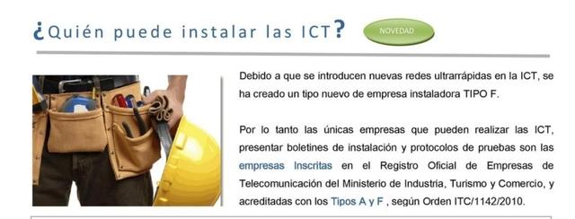 INSTALACIONES, PROYECTOS Y BOLETINES ICT2 - foto 2