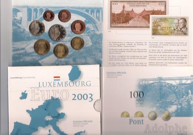 Cartera Luxemburgo 2003