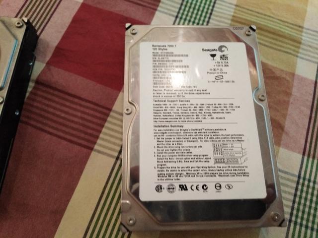 DISCO DURO DE 120 GB - foto 1