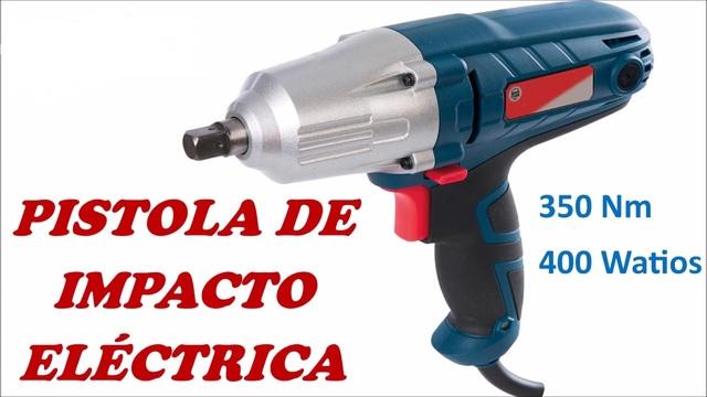 """PISTOLA O LLAVE DE IMPACTO ELECTRICA 1//2/"""" 350 NM 3 AÑOS DE GARANTIA"""