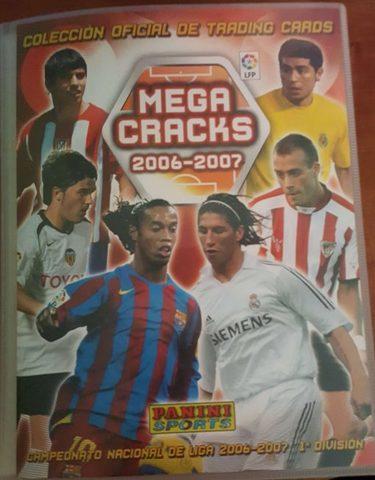 BIS CARD PANINI MEGA CRACKS LIGA 2007 CHECKLIST 4 EDICION 2/2 NUEVAS FICHAS