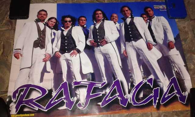 Poster Del Grupo Rafaga