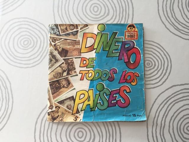 Album De Cromos Dinero De Todos Los Pais