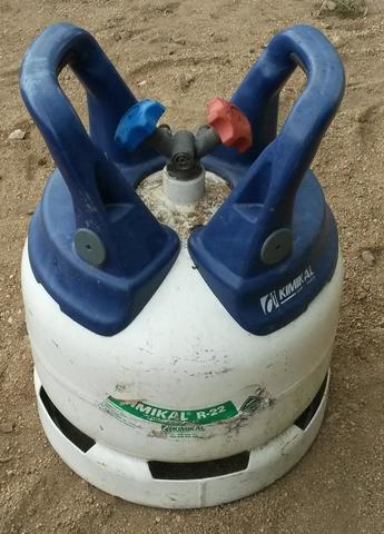 Gas,  Botella Kimikal