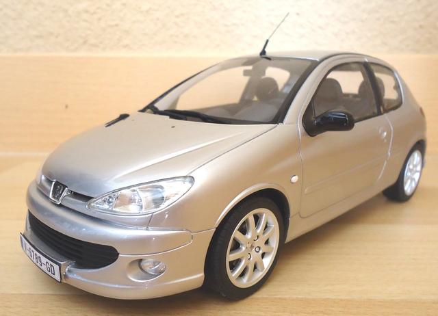 Peugeot 206 Gt 1:18