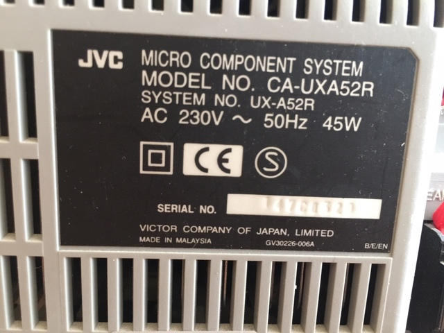 MINICADENA JVC - foto 3