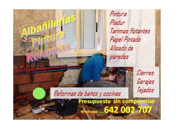 ALBAÑIL REFORMAS,  OBRAS,  EN CORUÑA - foto 1