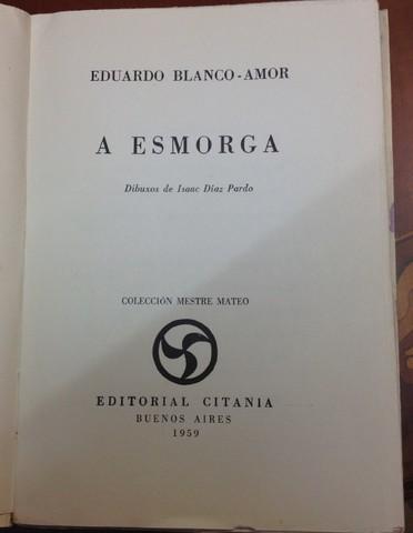 A ESMORGA. . 1ª EDICION ORIGINAL 1959.  - foto 3