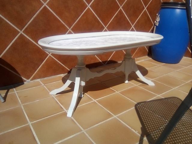 MIL ANUNCIOS.COM - Mesa de madera antigua restaurada