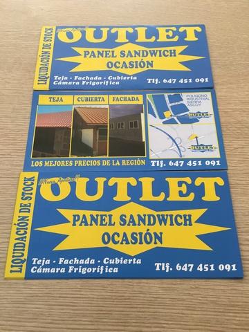 Nuevos Lotes De Panel Sandwich 8. 95  (3)