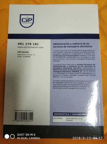 ADM DE SERV. DE INTERNET IFCT0509 - foto 8