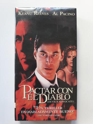 CINTA VHS ORIGINAL PACTAR CON EL DIABLO