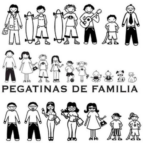PEGATINAS FAMILIARES - foto 2
