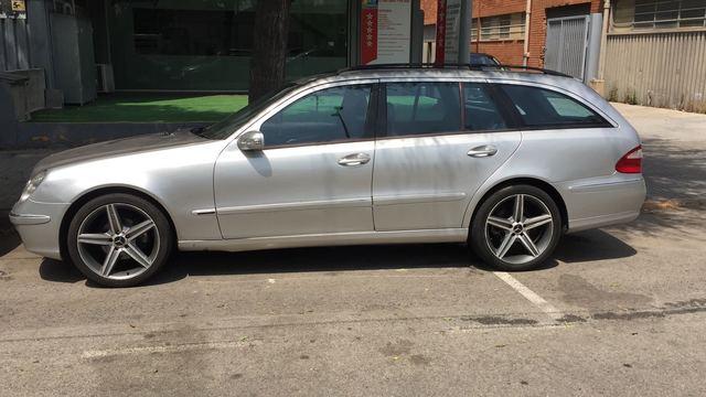 Paragolpes soporte la parte delantera izquierda para mercedes clase e s211 coche familiar 06-09