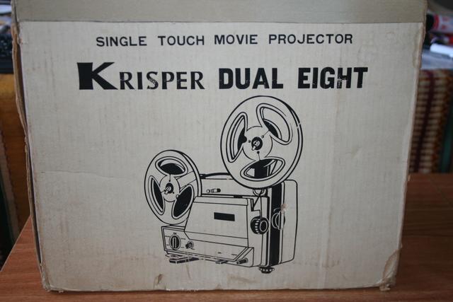 "PROYECTOR DE SUPER 8 ""KRISPER"" - foto 1"