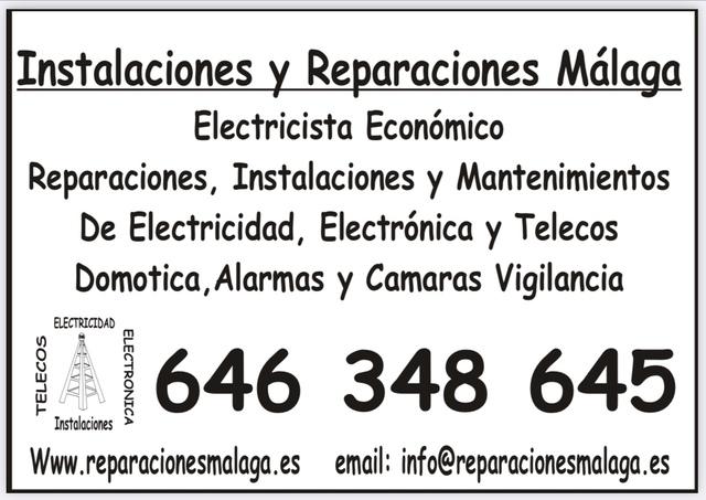ELECTRICISTA BARATO EN MÁLAGA - foto 3