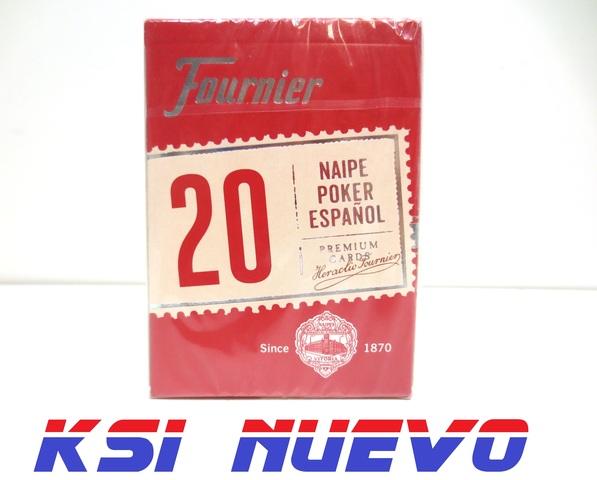 Baraja Carta Española Fournier 55 Cartas