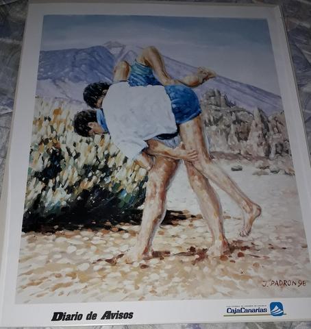 Poster De Lucha Canaria