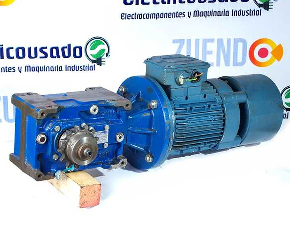 14 RPM DE SALIDA 1,1KW 400V 1,5CV MOTORREDUCTOR TRIFASICO 220V