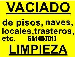 HACEMOS LIMPIEZAS DE TRASTEROS ALMACENES - foto 1