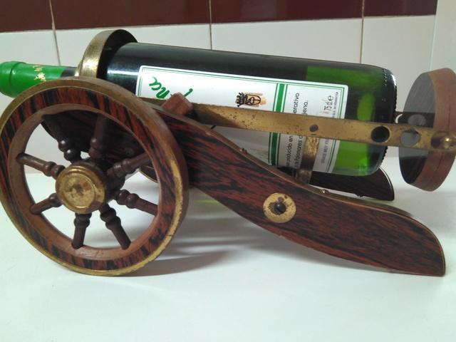 Botellero Madera Antiguo De Y Latón OXilwkZPuT