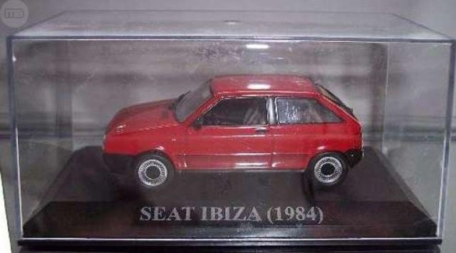 Miniatura Seat Ibiza 1984