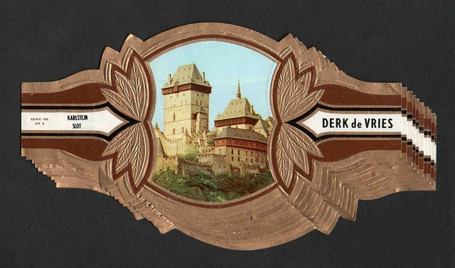 Derk De Vries. Turística, Serie 185
