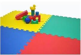 Piezas De Goma Puzzle - Ideal Para Niños