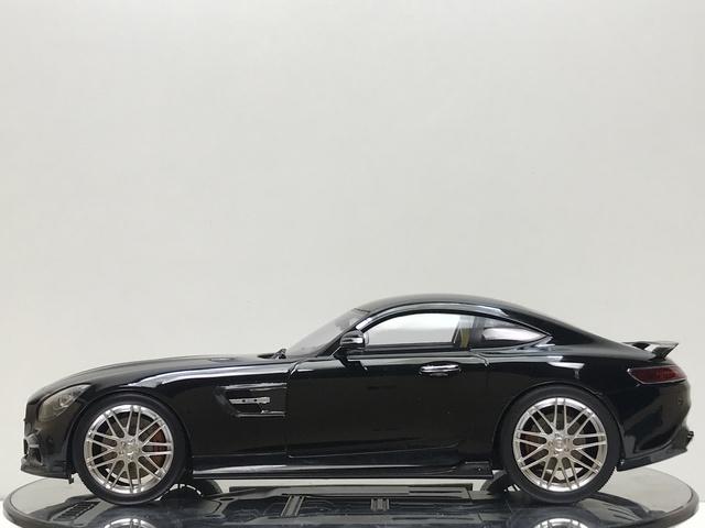 limitado 1000 unidades-GT Spirit Mercedes s 63 Coupé AMG diamante blanco 1:18