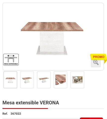 Verona Comedor Mesa Comedor Conforama Mesa Verona De Conforama De jqc5A34LR