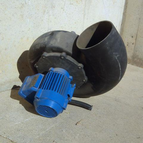 Turbina Aspiración Humos 0, 37Kw