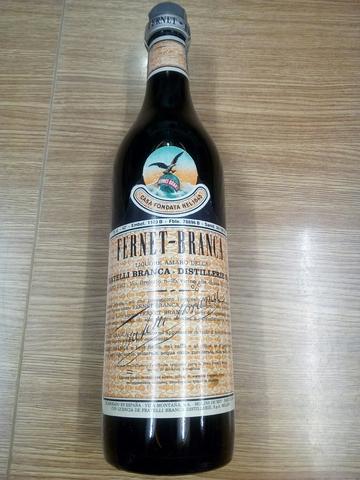 Fernet-Branca Años 80 Licor Milano