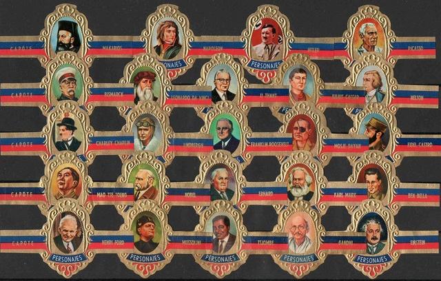Serie B (Sin Punta). Personajes.