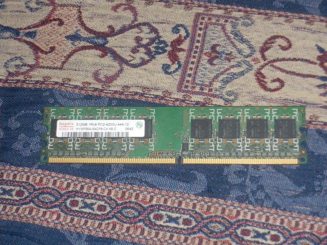 MEMORIA RAM DDR2 512MB - foto 1