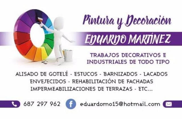 PINTURA Y DECORACION EDUARDO MARTINEZ - foto 1