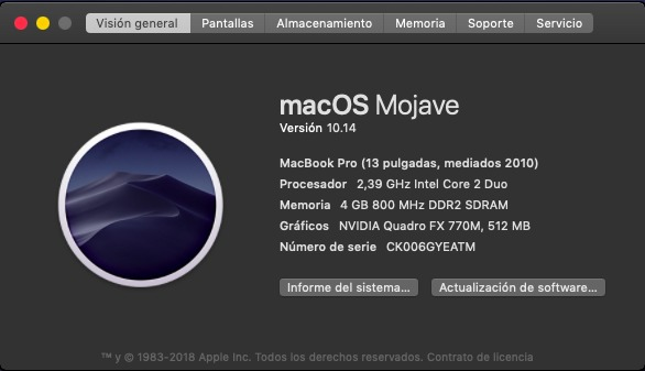 MACBOOK PRO HACKINTOSH