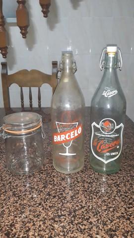 Botellas De Bebidas Antiguas