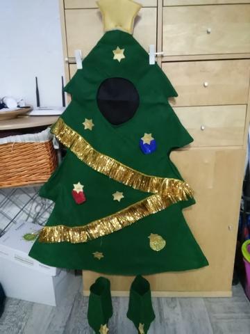 Disfraz arbol navidad nino