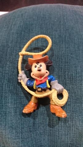 Figura Pvc Mickey Mouse Antiguo