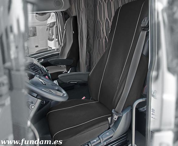 Fiat Ducato II desde 2004-7 Asiento Hecho a Medida Fundas Del Terciopelo