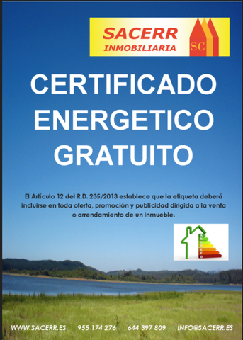 CERTIFICADO ENERGÉTICO GRATUITO*  - foto 1