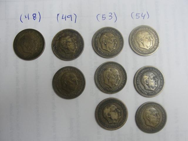 Pesetas De Franco Año 1.947