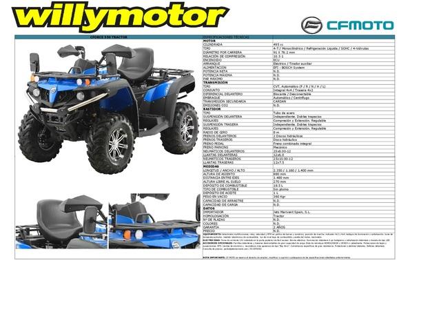 QUAD ATV CFMOTO - CFORCE 550 EPS EURO4 - foto 2
