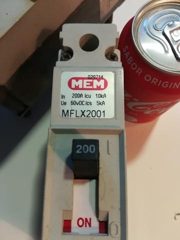 Interruptores Automáticos De 200 Amp