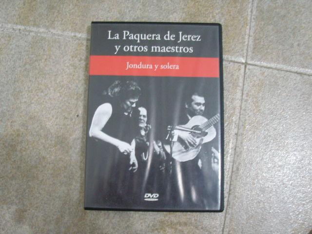 LA PAQUERA DE JEREZ Y OTROS MAESTROS DVD - foto 1